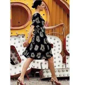 Anthropologie Maple UFO Crinkle Kimono Dress